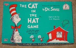 DR SEUSS CAT IN THE HAT GAME1996 U NIVERSITY GAMES COMPLETE EXCELLENT US... - $25.00
