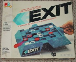 EXIT STRATEGY GAME 1983 MILTON BRADLEY COMPLETE EXCELLENT - $20.00
