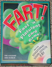 FART CARD CD SOUND EFFECTS GAME 2005 OUTSET MEDIA OPEN BOX UNUSED SEALED... - $25.00