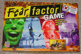Fear Factor Game Hit Tv Show Nbc 2005 Nib Factory Sealed Parts Complete - $25.00