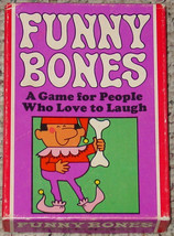 FUNNY BONES GAME 1968 PARKER BROTHERS complete Very good condition - £8.72 GBP
