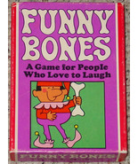 FUNNY BONES GAME 1968 PARKER BROTHERS complete Very good condition - $12.00