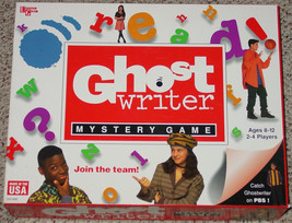 GHOST WRITER MYSTERY GAME 1995 UNIVERSITY GAMES MADE IN USA NIB UNUSED C... - $25.00
