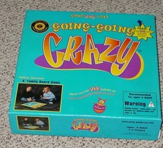 Going Going Crazy Childrens Educational Board Game 2001 Excellent Complete - $25.00