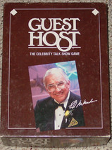 GUEST HOST GAME 1987 RAINBOW GAMES CELEBRITY TALK SHOW GAME COMPLETE MAD... - $25.00