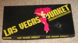 LAS VEGAS NEVADA JUNKET GAME 1979 LAS VEGAS WEST MONOPOLY STYLE COMPLETE - $25.00