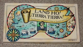 LAND HO TIERRA TIERRA DISCOVERY OF AMERICA GAME ARISTOPLAY IN SPANISH & ... - $20.00