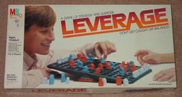 Leverage Game Of Strategy & Suspense 1983 Milton Bradley Complete - $20.00
