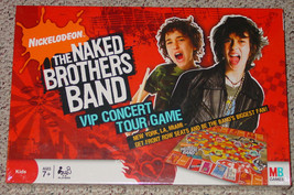 Naked Brothers Band New  Sealed Nickelodeon Vip Concert Tour Game 2008 Complete - $16.00