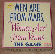 Men Are From Mars Women Are From Venus Game 2002 Endless Game Complete  Excellen - $20.00