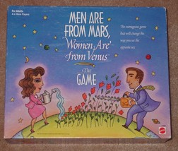 Men Are From Mars Women Are From Venus Game 1998 Mattel Sealed Parts Complete - $15.00