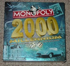 MONOPOLY 2000 MILLENNIUM PROPERTY TRADING GAME PARKER BROTHER COMPLETE E... - $20.00