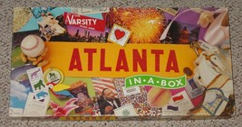 ATLANTA IN A BOX GAME LATE FOR THE COMPLETE EXCELLENT - $25.00