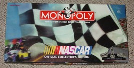 MONOPOLY NASCAR OFFICIAL COLLECTORS EDITION GAME PARKER BROTHERS USAOPOL... - $25.00