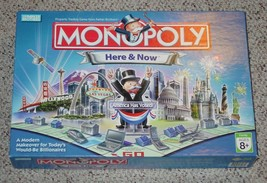 MONOPOLY HERE & NOW AMERICA HAS VOTED GAME 2006 PARKER BROTHERS COMPLETE - $20.00
