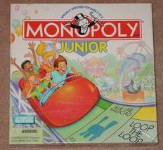 MONOPOLY JUNIOR JR AMUSEMENT EDITION GAME 1996 COMPLETE EXCELLENT - $15.00