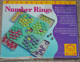 NUMBER RINGS GAME DISCOVERY TOYS 2002 COMPLETE MADE IN ISRAEL - $20.00