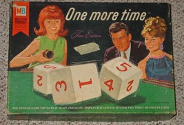 One More Time Fine Edition Game 1967 Milton Bradley Complete Excellent - $30.00