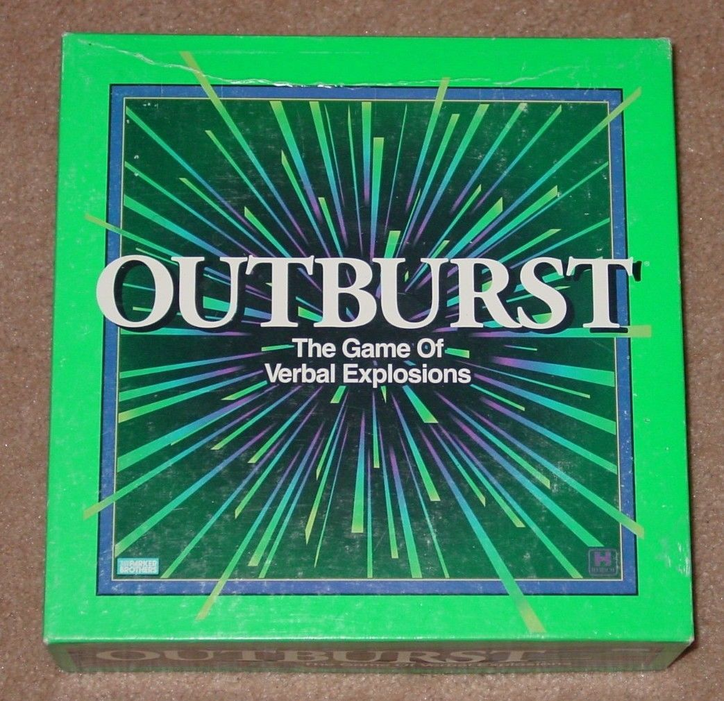 Primary image for OUTBURST GAME 1994 PARKER BROTHERS HERSCH COMPLETE EXCELLENT
