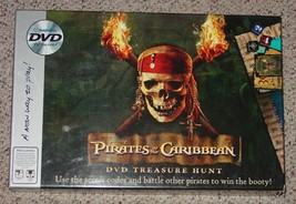 PIRATES OF THE CARIBBEAN DVD TREASURE HUNT GAME... - $25.00