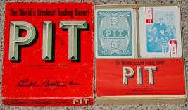 PIT CARD GAME OLD VINTAGE 1962 PARKER BROTHERS COMPLETE EXCELLENT - $30.00