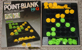 POINT BLANK HI-Q GAME GABRIEL 1979 COMPLETE EXCELLENT - $20.00