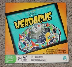 POPOMATIC HEADACHE DICE ROLLER RACE GAME HASBRO 2009 COMPLETE english sp... - $8.00