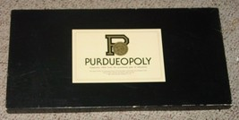 PURDUEOPOLY GAME 1985 MONOPOLY STYLE LATE FOR THE SKY  COMPLETE EXCELLENT - $25.00