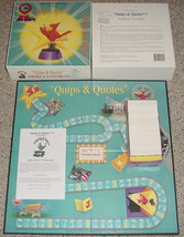 "QUIPS & QUOTES GAME  NEW ""FACTORY SEALED PARTS"" 1998 WINK FUN & GAMES INC - $32.00"
