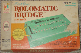 Rolomatic Bridge Machine Chas H Gorens 1969 Milton Bradley Complete Set 1 - $15.00