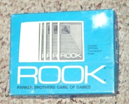 ROOK CARD GAME  PARKER BROTHERS OFFICIAL TOURNAMENT RULES 1972  COMPLETE... - $15.00