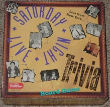 Saturday Night Live Trivia Board Game 1993 Tiger Games Sealed Parts Unplayed - $25.00