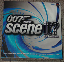 SCENE IT DVD GAME 007 BOND EDITION 2004 SCREEN LIFE COMPLETE EXCELLENT C... - $15.00