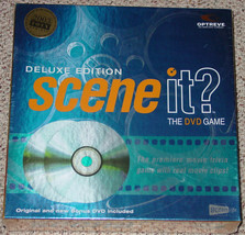 SCENE IT DVD GAME DELUXE EDITION 2004 SCREENLIFE NEW FACTORY SEALED BOX - $20.00