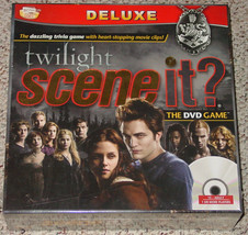 Scene It Dvd Game Twilight Deluxe 2009 Screenlife New Factory Sealed Box  - $20.00