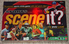 SCENE IT DVD GAME SPORTS ESPN TRIVIA 2005 MATTEL SCREENLIFE NEW FACTORY ... - $20.00