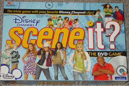 Scene It Dvd Game Disney Channel Mattel Screenlife 2008 Complete Nib Excellent S - $20.00