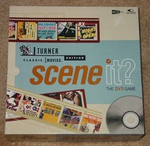 SCENE IT DVD GAME TURNER CLASSIC MOVIES EDITION 2004 SCREENLIFE UNUSED E... - $20.00