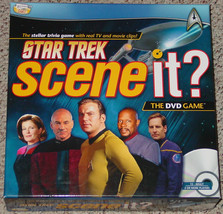 SCENE IT DVD GAME STAR TREK SCREENLIFE 2009 COMPLETE NIB EXCELLENT SEALE... - $20.00