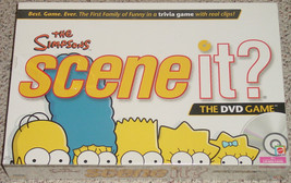 SCENE IT DVD GAME SIMPSONS 2009 MATTEL SCREENLIFE NEW FACTORY SEALED - $20.00