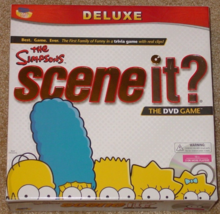 SCENE IT DVD GAME SIMPSONS DELUXE EDITION 2009 SCREENLIFE COMPLETE EXCEL... - $15.00