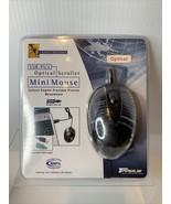 NEW Targus Optical Scroller Mini Mouse Model PAUM003v2 Black PS/2 - USB ... - $15.84