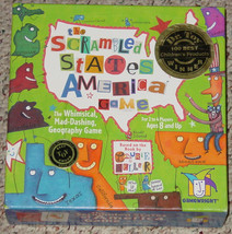 SCRAMBLED STATES OF AMERICA GAME GEOGRAPHY GAME GAMEWRIGHT 2002 COMPLETE - $25.00