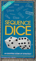 Sequence Dice Game Jax 1999 Sealed Mint Complete - $25.00