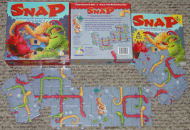 SNAP GAME GAMEWRIGHT INTERLOCKIG DRAGON MAKING GAME 2002 COMPLETE EXCELLENT - $30.00