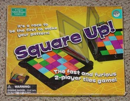 Square Up 2 Player Tile Game 2007 Mindware Complete - $25.00