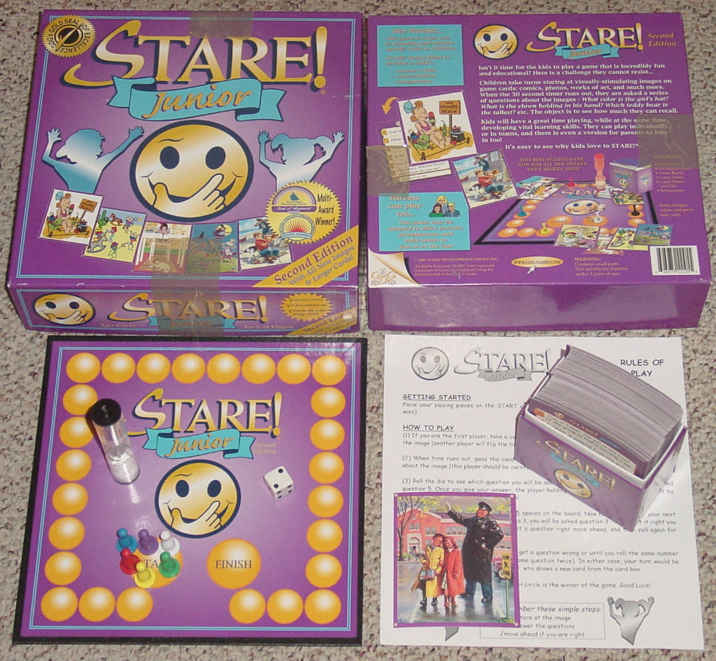 Primary image for STARE JUNIOR GAME 2ND EDITION 2007 GAME DEVELOPMENT GROUP COMPLETE EXCELLENT
