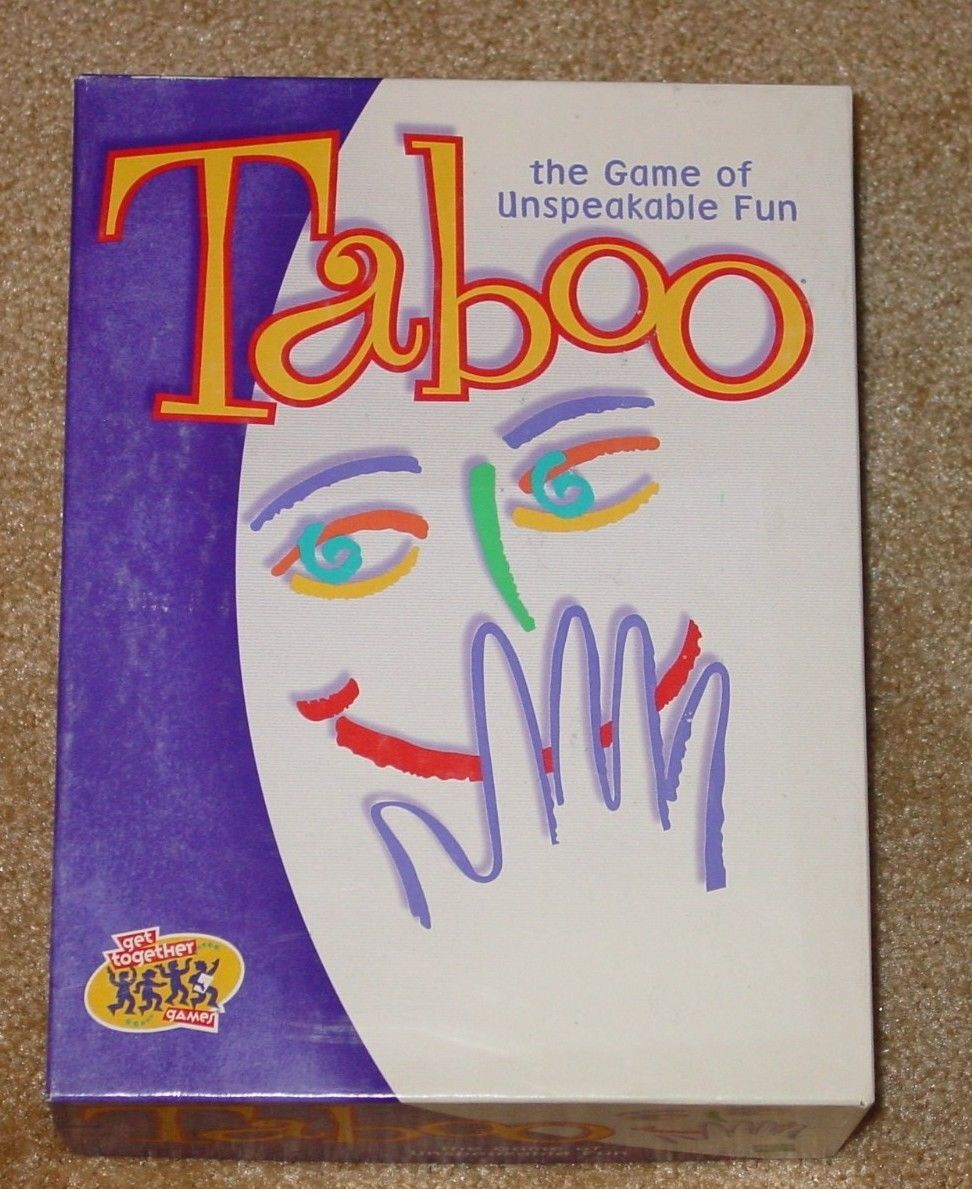 Primary image for TABOO GAME 2000 HASBRO HERSCH COMPLETE EXCELLENT UNUSED  CONDITION