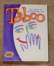 TABOO GAME 2000 HASBRO HERSCH COMPLETE EXCELLENT UNUSED  CONDITION - $20.00