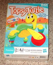 TOPSY TURTLE TILTING TOPPLING TALKING TURTLE GAME 2009 HASBRO MB COMPLET... - $10.00